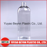 bouteille ovale en plastique d'Ellipe de l'animal familier 300ml avec la pompe de lotion (ZY01-A011)