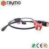Черный хром цвет для использования вне помещений IP68 совместимы 0f 9-контактный кабель питания навигации разъем щитка приборов