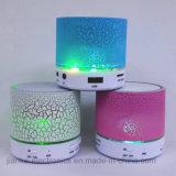 Mini altoparlante portatile di vendita caldo del LED con il marchio stampato (572)