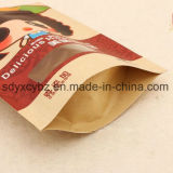 Matériau de papier et de la nourriture l'utilisation industrielle Stand up sacs Ziplock