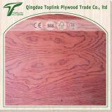 高品質の低価格の空想の合板のBubingaの装飾によって薄板にされる合板