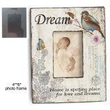 Vintage Baby Decor MDF marco de madera de la foto