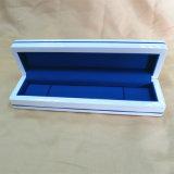Kingly чисто белая деревянная коробка серии ювелирных изделий оптовой продажи пакета ювелирных изделий