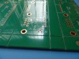 Alto oro de la inmersión de la tarjeta de circuitos del PWB del Tg en sistema de la visión