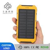 Bewegliche Solarladegerät Doppel-Sonnenenergie-Bank der USB-externe Batterie-8000mAh