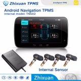 USD TPMS het Androïde Systeem van de Navigatie met Externe Sensoren