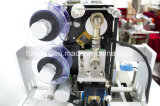Máquina de etiquetado de etiqueta semiautomática de la botella con el codificador de China