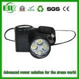 Resistente al agua de las luces de emergencia de 7,4 V 5200mAh Batería de litio recargable 18650