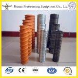 Pfosten-Spannkraft gewölbtes HDPE Plastikrohr-Gefäße
