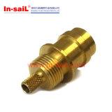 CNCの機械化の真鍮のフランジのオートメーションのコンポーネント