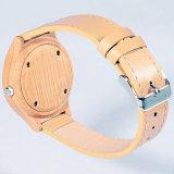 Fabrik-direkte hölzerne Luxuxarmbanduhr für Damen 71052