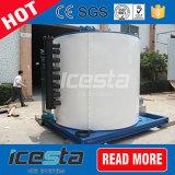 De Icesta Containerized Installatie van het Ijs van de Vlok voor Concrete en het Mengen zich Installatie