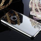 Caisse protectrice entière de téléphone de miroir de 360 degrés pour l'iPhone avec le protecteur d'écran en verre Tempered