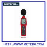 352 O medidor de nível de som digital com o registo de dados