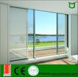 Beau Windows coulissant en aluminium et portes, portes coulissantes d'épreuve saine avec la double qualité en verre et prix bas