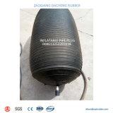 Test d'air fermée Inflatable Bouchon de tuyau avec dérivation