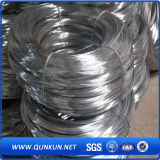 Fil galvanisé plongé chaud de relation étroite coupé par 2.5mm et fil obligatoire