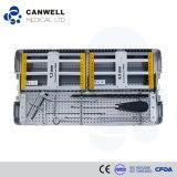 Tornillo médico de la salud de la placa del hueso del tornillo de Cannulated del aparato médico