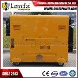 6kVA 6000 генератор ватта 6kw звукоизоляционный тепловозный портативный для домашней пользы