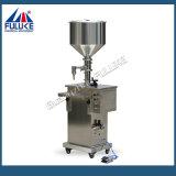 Crema horizontal neumática de Fuluke Fgj y máquina de rellenar del líquido