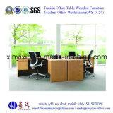 Moderner Melamin-Arbeitsplatz Aufteilung China-Büro-Möbel (WS-06B)