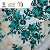 Цветастый цветок Sequin вышивает шнурку 142