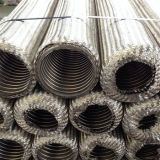 Gewölbter umsponnene flexibles Metalschlauch