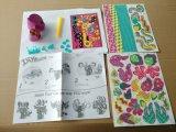 Niños juguetes de papel de bricolaje para animales-gato