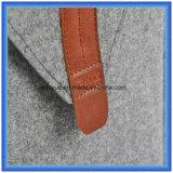 """Saco personalizado fábrica da pasta do portátil de feltro de lãs, luva nova do portátil da forma do envelope da forma para """" portátil 11"""
