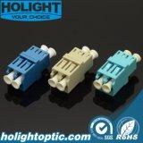 LC для LC Duplex оптоволоконный адаптер