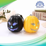 La decoración de Halloween Pumpkin linterna mini altavoz portátil Bluetooth