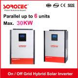Ausgabe AufRasterfeld eingebauter MPPT Solarcontroller des Sonnenenergie-Inverter-