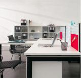 執筆ボードが付いているマルチ機能L字型オフィスワークステーション