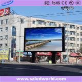 Панель экрана стены цвета СИД высокой яркости P10 SMD3535 напольная полная видео- для рекламировать