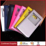 für Samsung-Galaxie S8 PU-ledernen Mappen-Kasten-Leder-Telefon-Kasten