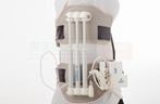 Dispositivo de tração lombar de pressão hidráulica