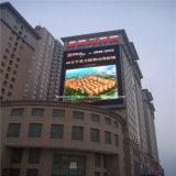 Visualización de LED P10 con el alto brillo para hacer publicidad