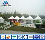 Tente blanche de pagoda de murs en verre de Cpver