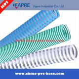 2017 Tuyau d'aspiration en plastique PVC / tuyau / tube