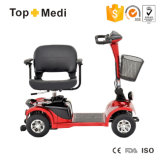 TopmediのFoldableシートの取り外し可能な障害がある強力な四輪電気スクーター