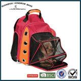 網の多重デラックスな二重肩ひも犬か猫のSH17070209運送バックパック袋