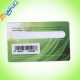 85.60 Carte 53.98mm vierge de PVC X