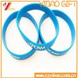 Kundenspezifischer Firmenzeichen-Silikonwristband-Sport-Gummisilikon Bracelt für Geschenke (YB-HD-21)