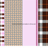 100%Polyester розовая коробка Pigment&Disperse напечатала ткань для комплекта постельных принадлежностей