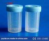 使い捨て可能な生殖不能の標本の容器、尿の容器、PP/PS材料
