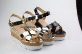 Nouvelle Mode Platfrom sandale Lady chaussures sexy pour l'été