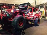 De Gloed van het Stootkussen van de Legering van het aluminium voor Jeep Wrangler Jk 2007+