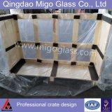 Vidro de coletor solar temperado de 3,2 mm / 4 mm (ferro normal)