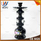 Waterpijp van Shisha van de Waterpijp van het Glas van de Verstuiver van de Melasse van de Tabak van de Pijp van het glas de Rokende Vastgestelde