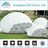 Tenda Dome 4M/5M/6m transparente octógono PVC branco tenda tenda Hexagonal